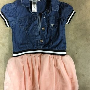 Guess denim-tutu dress